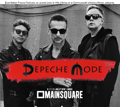 Depeche Mode Main Square Festival 2018
