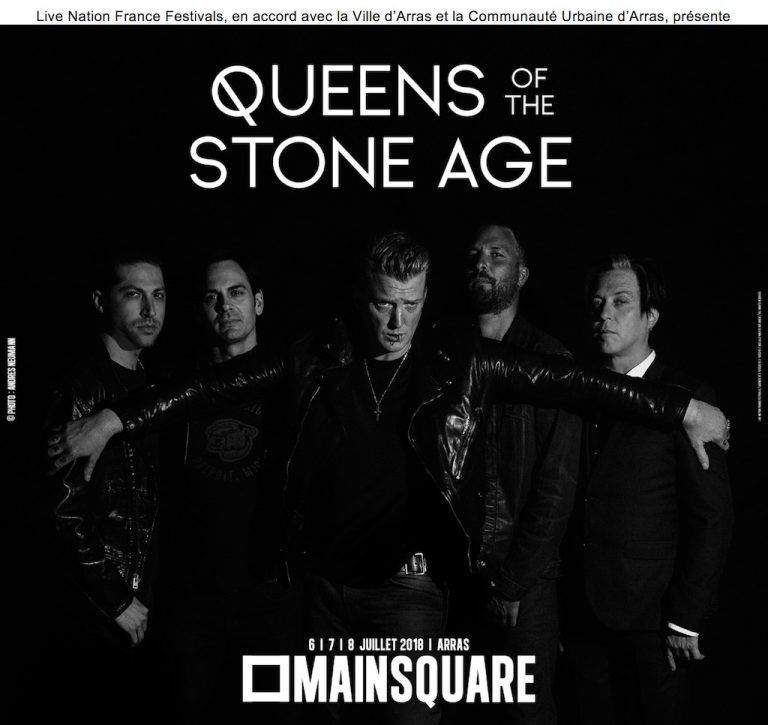 Queen of the Stone Age Main Square Festival 2018